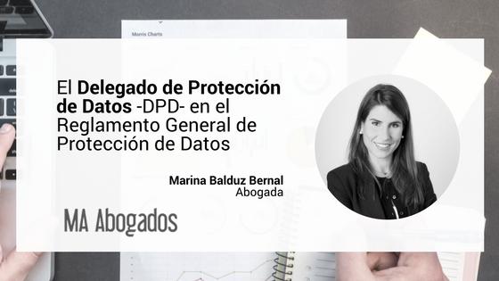 El Delegado De Protección De Datos (Data Protection Officer) En El RGDP
