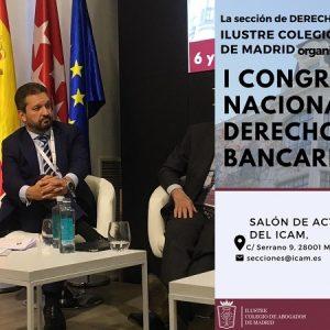 Congreso Nacional De Derecho Bancario, Colegio De Abogados De Madrid, MA Abogados
