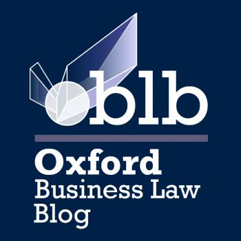POST DE JOSÉ CARLOS GONZÁLEZ EN EL OXFORD BUSINESS LAW.