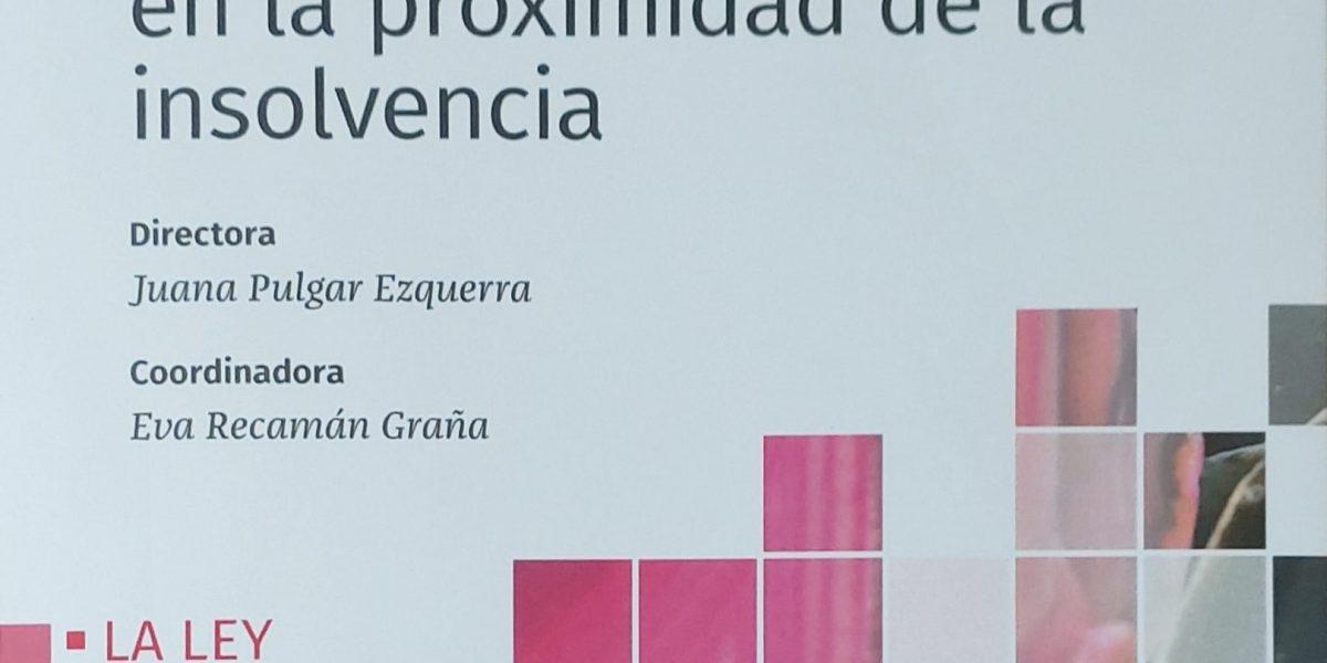 CONVERSIÓN DE DEUDA EN CAPITAL Y ACUERDOS DE REFINANCIACIÓN- JOSÉ CARLOS GONZÁLEZ VÁZQUEZ
