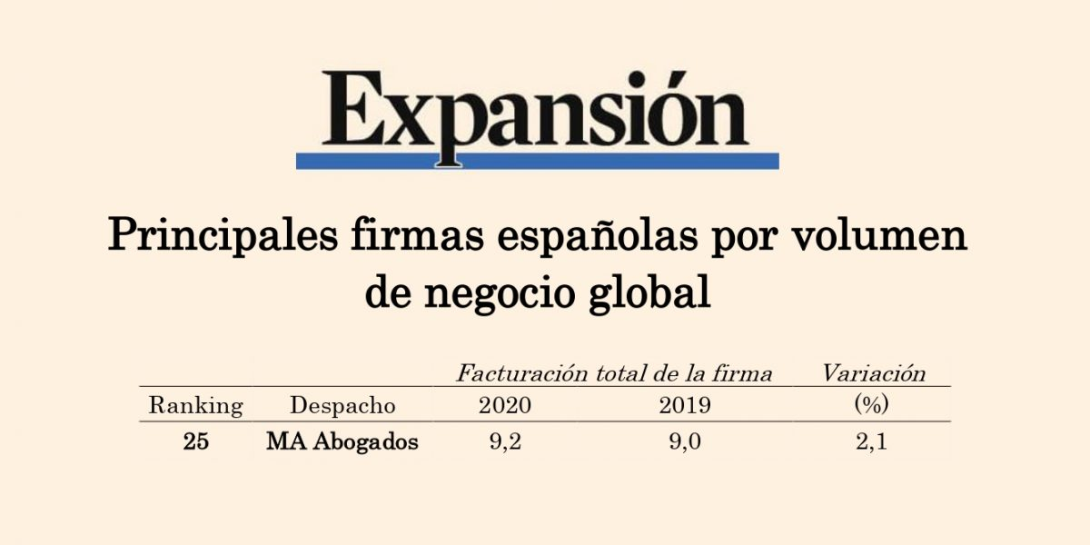 RANKING DESPACHOS DE ABOGADOS EXPANSIÓN